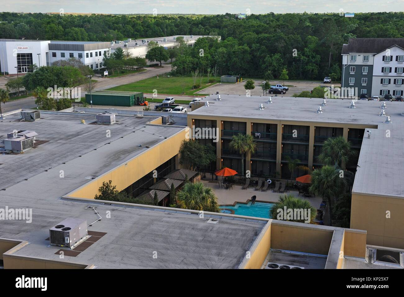 MCM Elegante Hotel, Beaumont, Texas, Stati Uniti d'America, America del Nord Immagini Stock