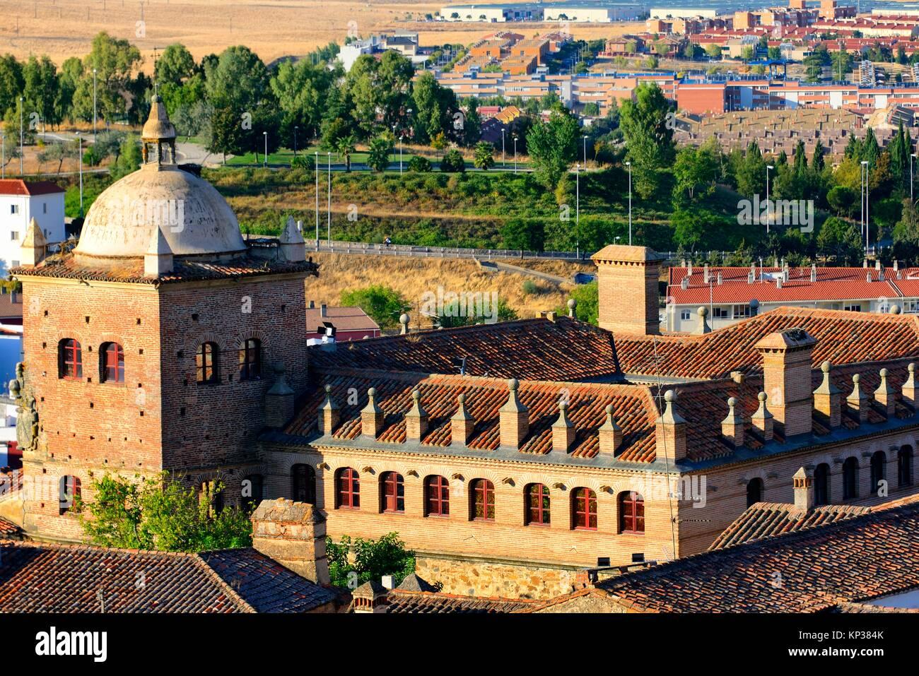 Archivio Storico di Cáceres - Archivo Historico Provincial de Cáceres, la città vecchia di Caceres, Immagini Stock