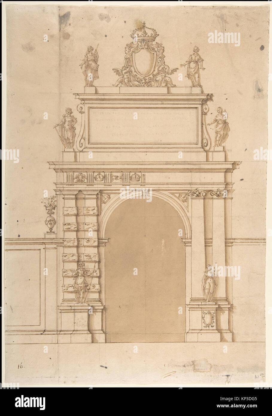 Arco Per Porta design per l'arco trionfale a porta ticinese a milano, con i