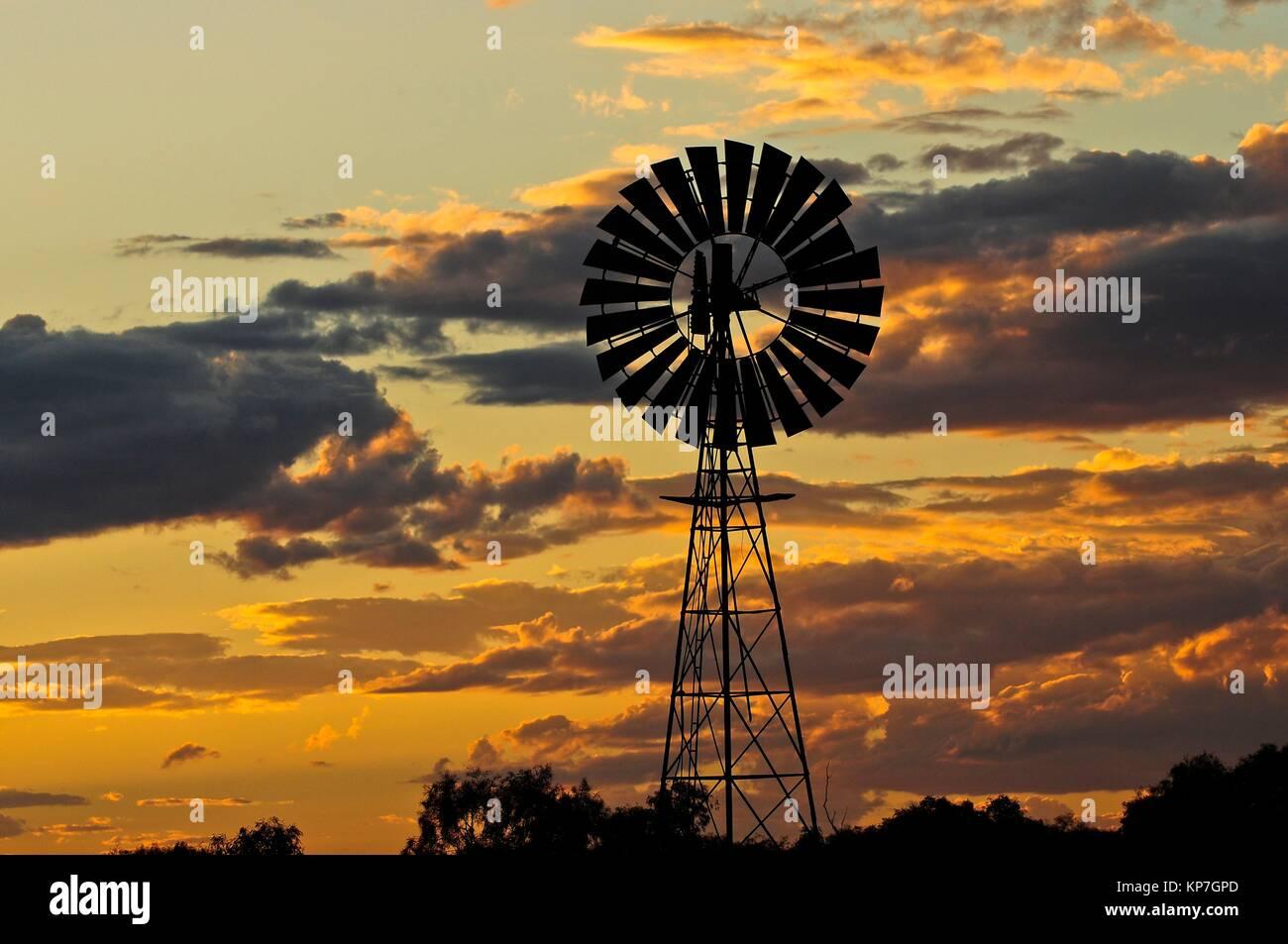 La Stuart Highway, Territorio del Nord, l'Australia, Oceania Immagini Stock