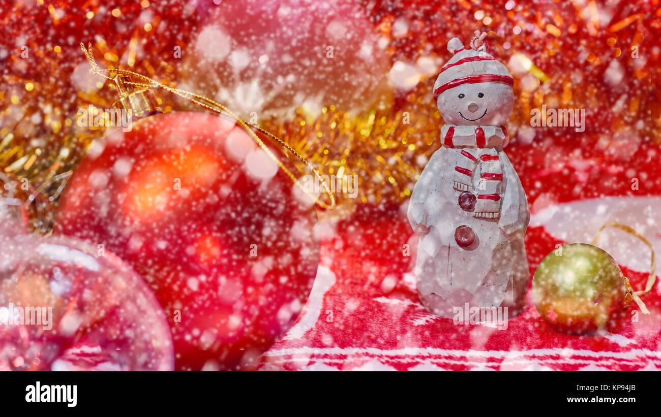 Foto Di Natale Neve Inverno 94.Natale Anno Nuovo Concetto Di Neve Nuovo Anno Pupazzo Di Neve Happy
