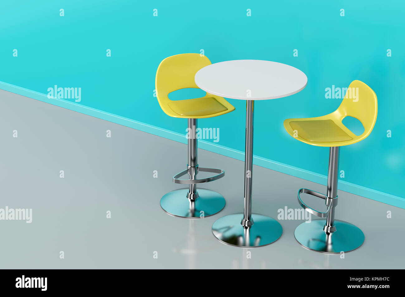 Tavolo Bar Sgabelli.Tavolo Bar E Sgabelli Foto Immagine Stock 168868320 Alamy