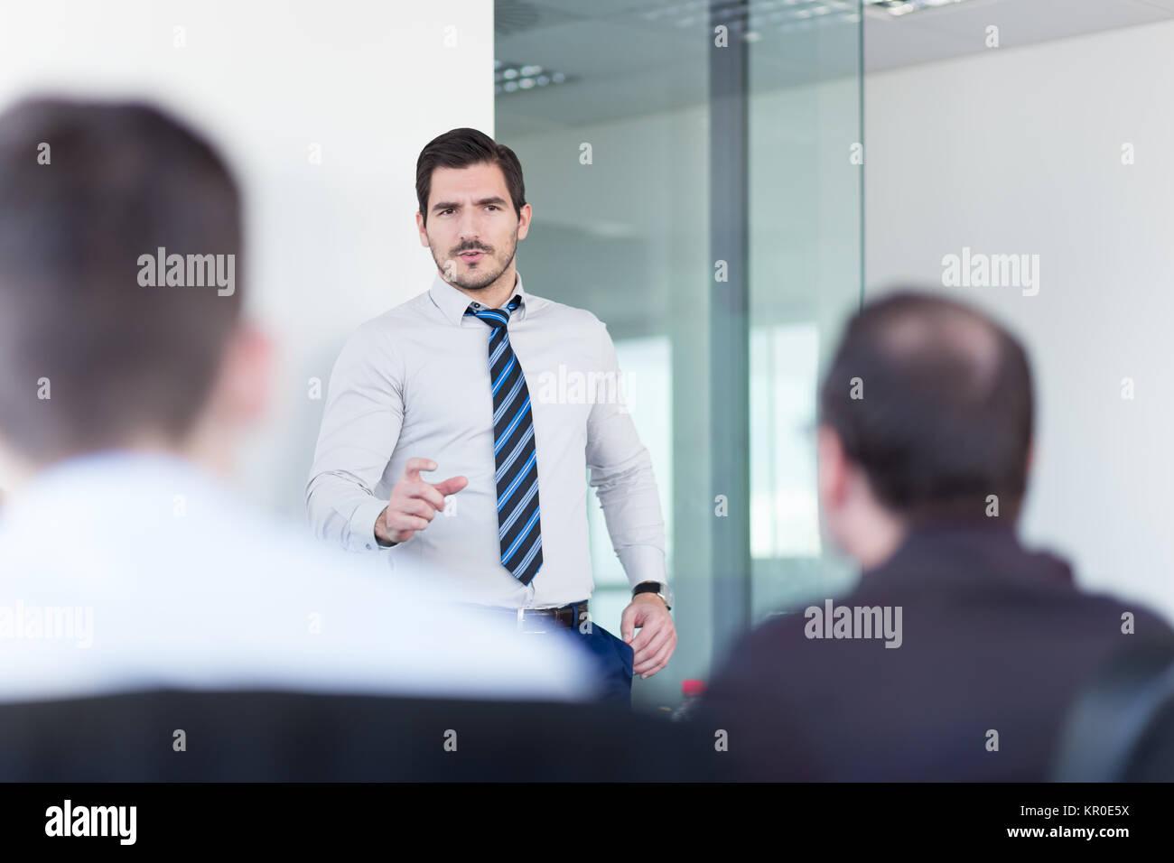 Il team di business office meeting. Immagini Stock