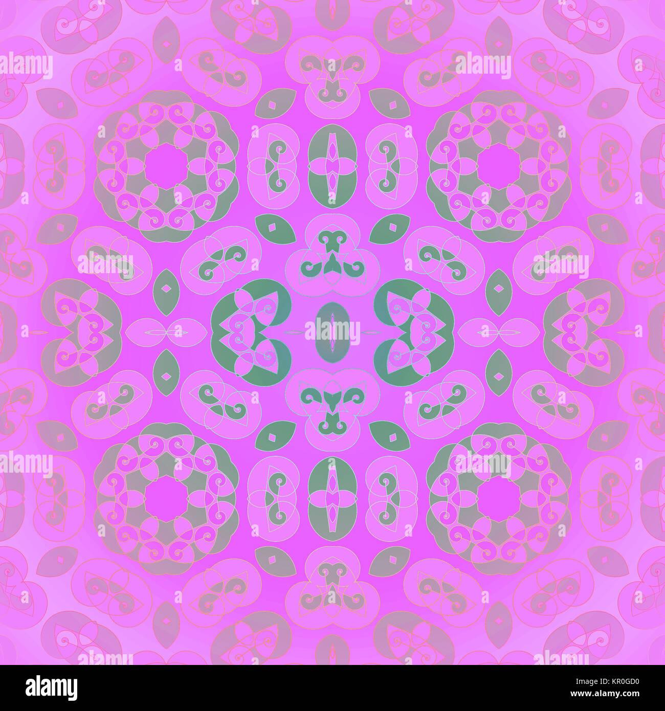 Delicato Colore Viola Pallido geometrica astratta sfondo senza giunture. ornato modello a