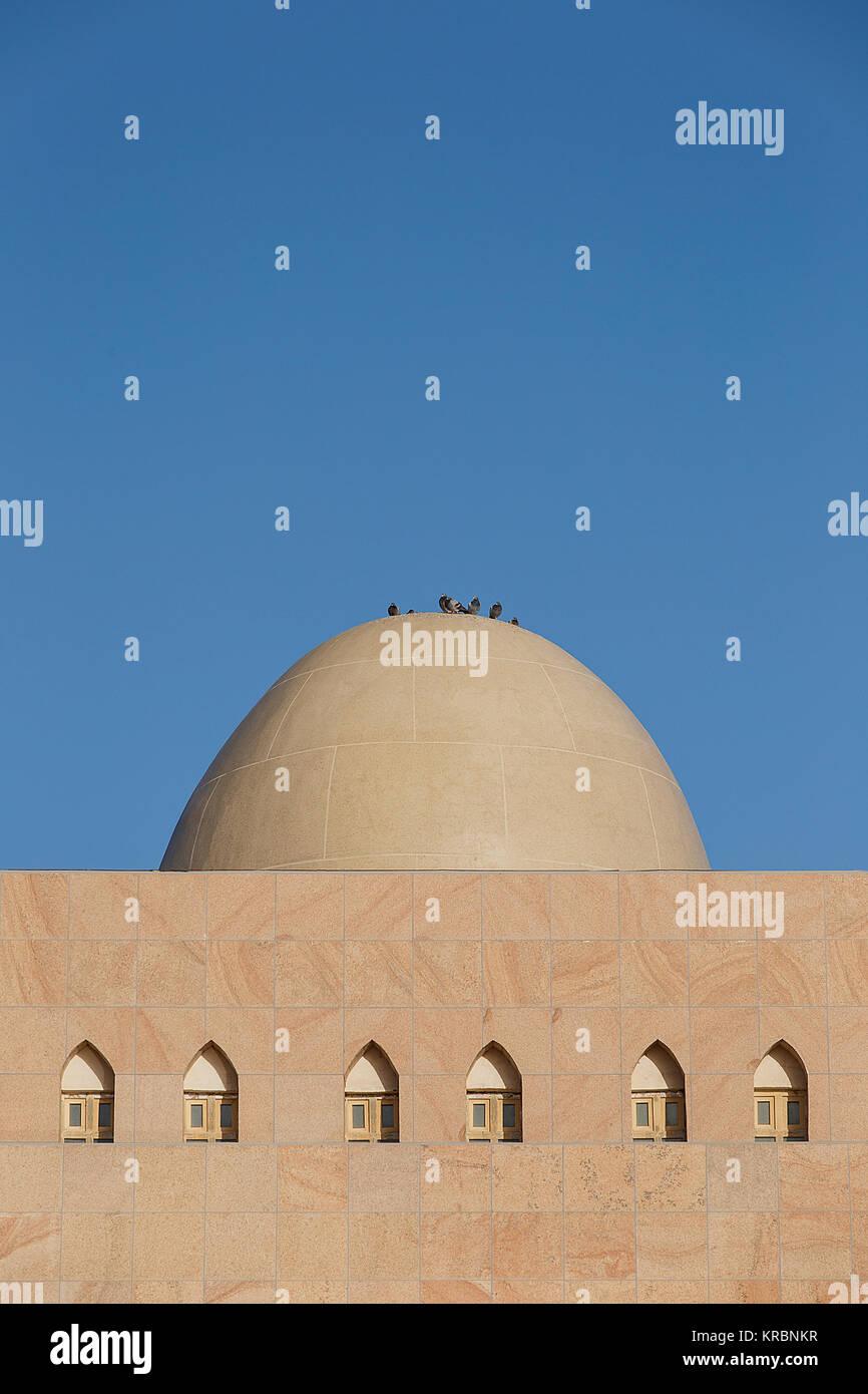 Dome, Loulan museum, Charkilik-China Immagini Stock