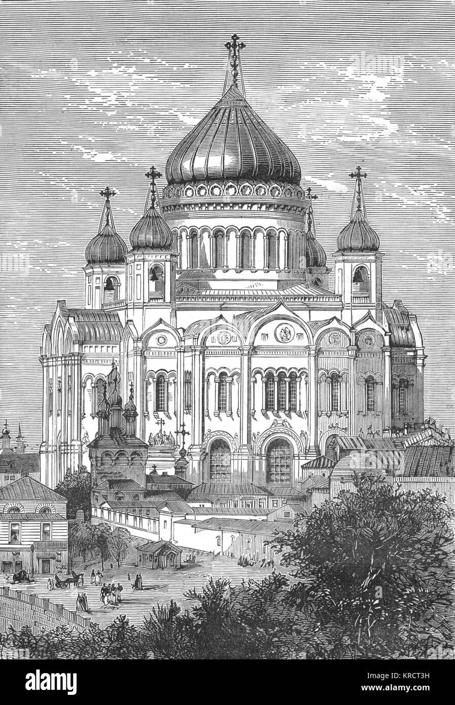 La Chiesa di San Salvatore (noto anche come il nostro Salvatore e il Cristo Salvatore); eretto per commemorare la Immagini Stock