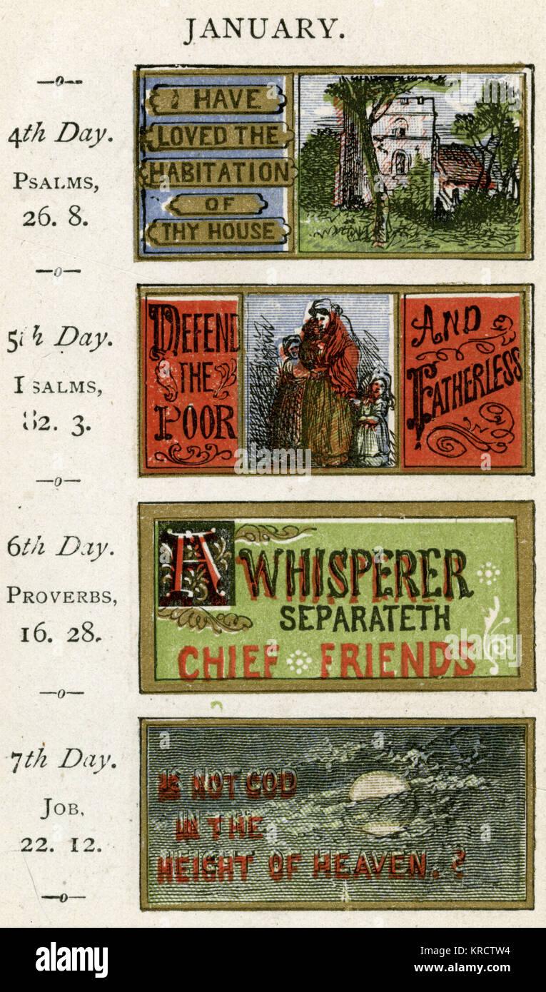 Ho amato la dimora della tua casa' e altri testi data: 1875 Immagini Stock