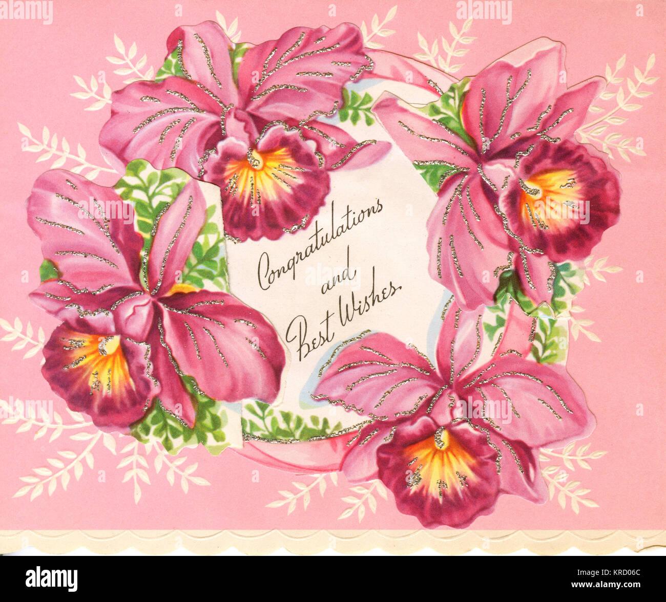 Al Matrimonio Auguri O Congratulazioni : Un giorno di nozze carta: congratulazioni e i migliori auguri