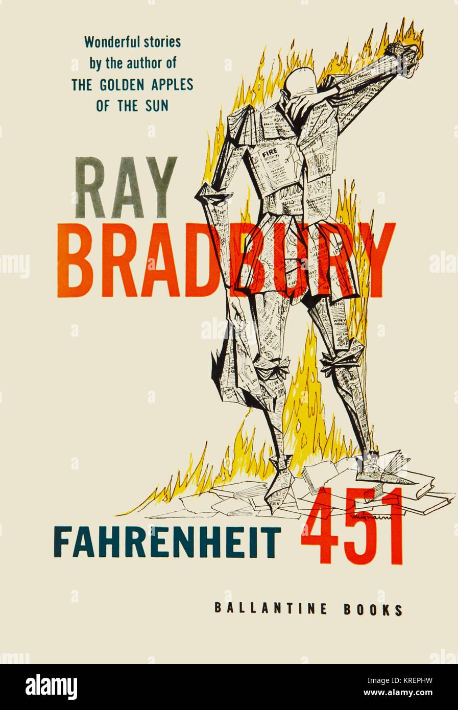 'Fahrenheit 451 è un dystopian romanzo di Ray Bradbury pubblicato nel 1953. Essa è considerata come Immagini Stock