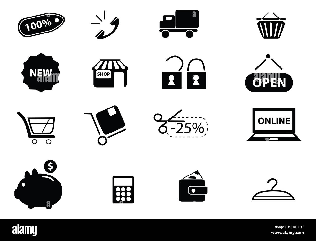 9acc55ea49 Online Security Flat Icons Vector Immagini & Online Security Flat ...
