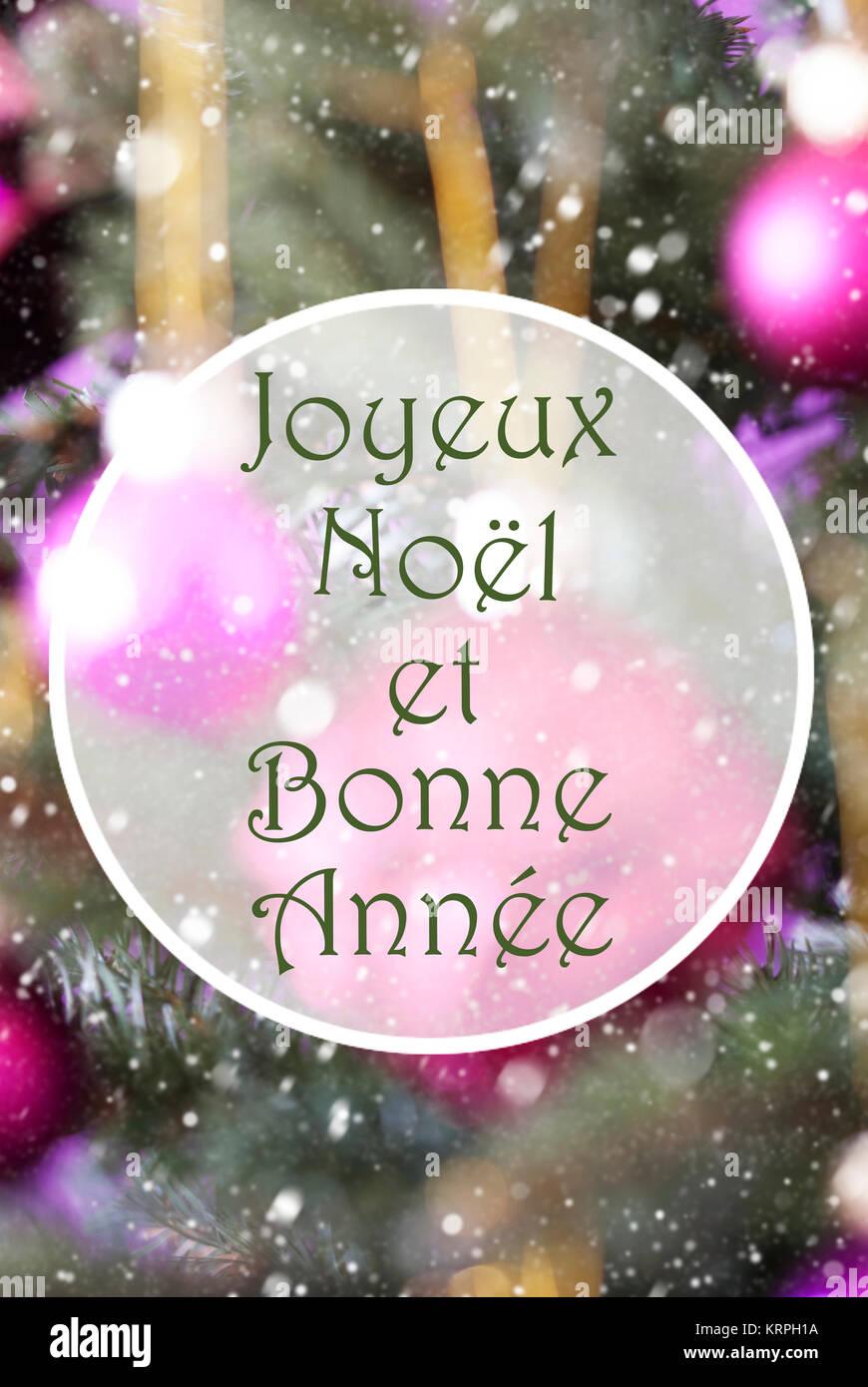 Auguri Di Buon Natale Francese.Testo Francese Joyeux Noel Et Bonne Annee Significa Buon