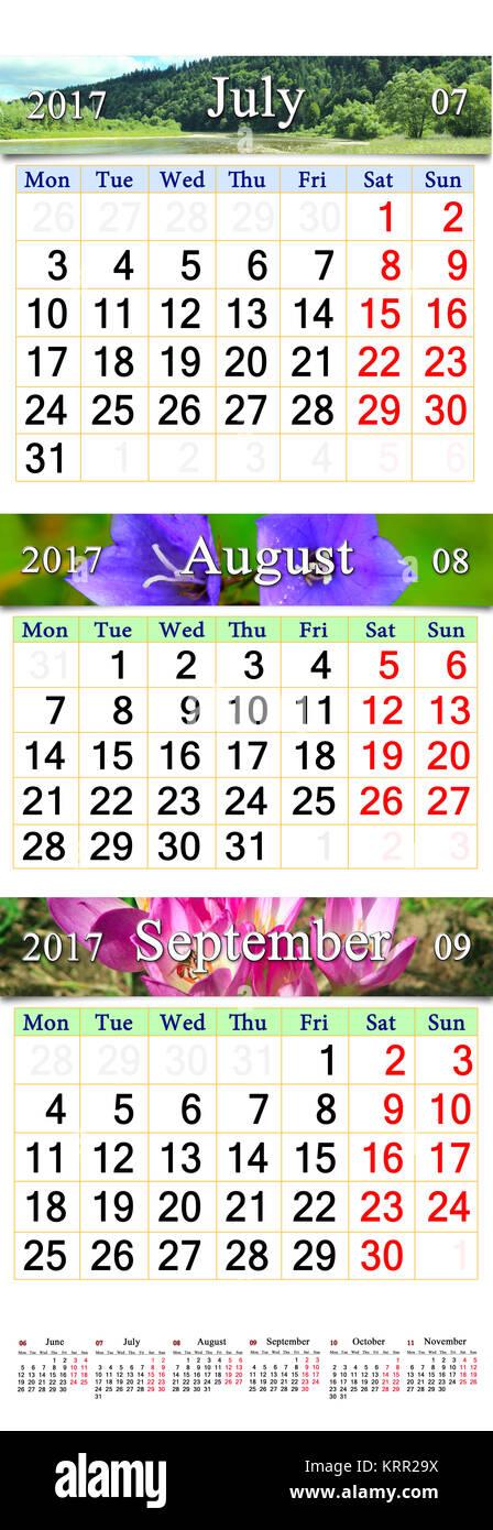 Calendario Luglio Agosto.Luglio Agosto Immagini Luglio Agosto Fotos Stock Alamy