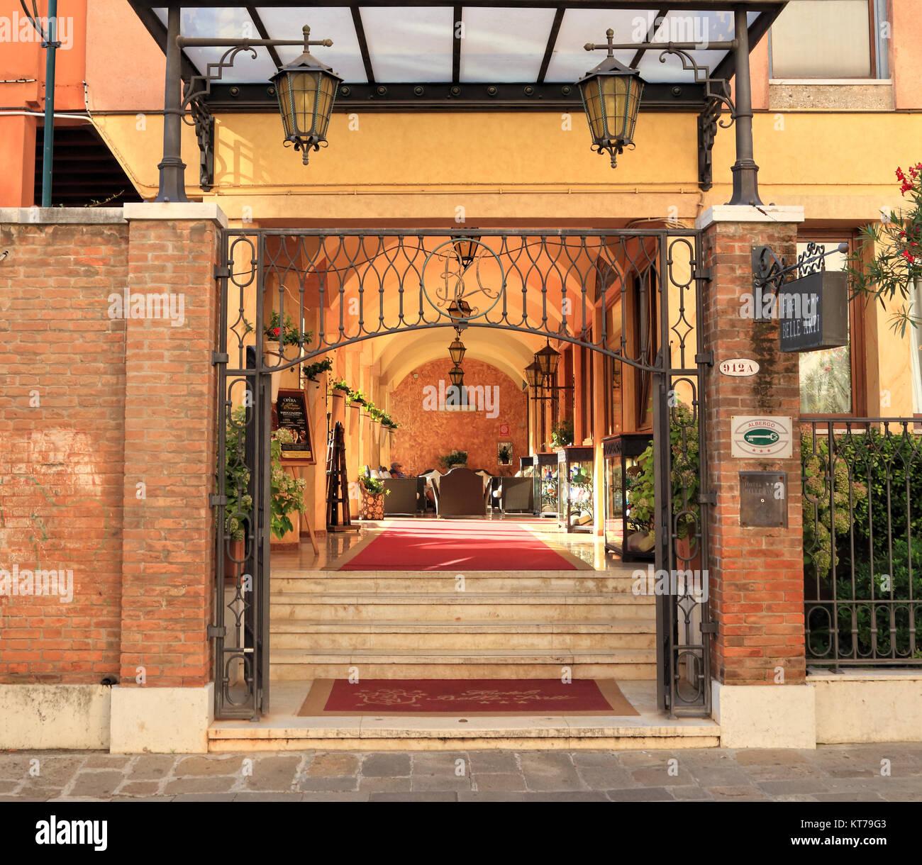 L'Hotel Belle Arti Immagini Stock