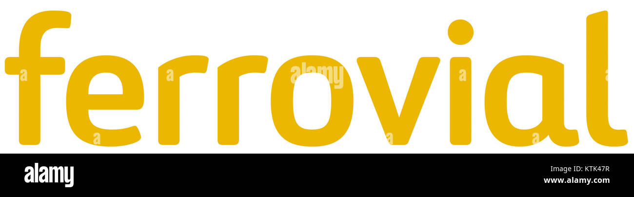 Ferrovial Logo Positivo Immagini Stock