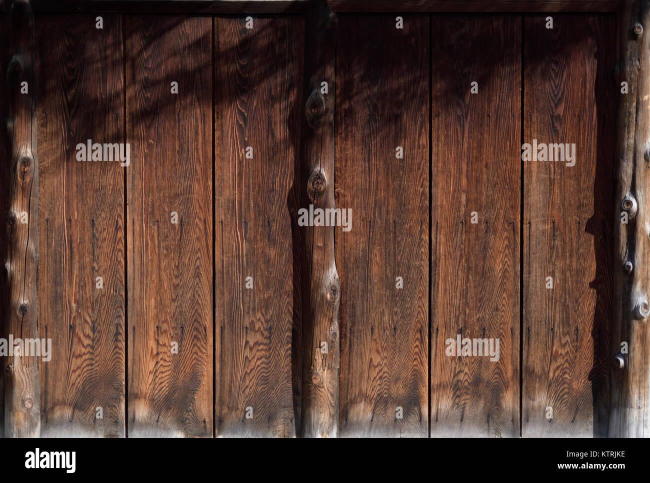 Carbonizzati giapponese il marrone scuro del legno di cedro, Shou ...