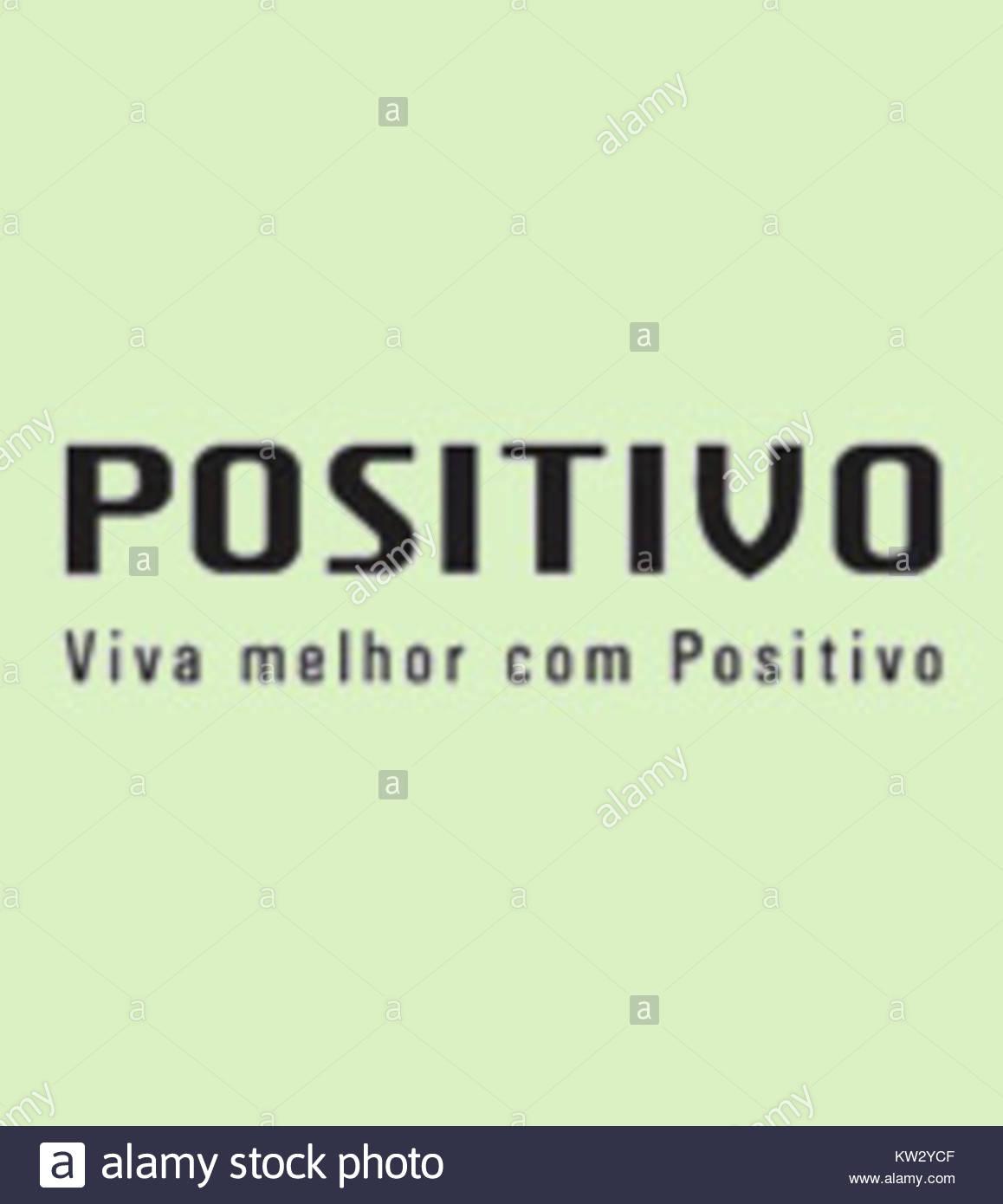Logo positivo Immagini Stock