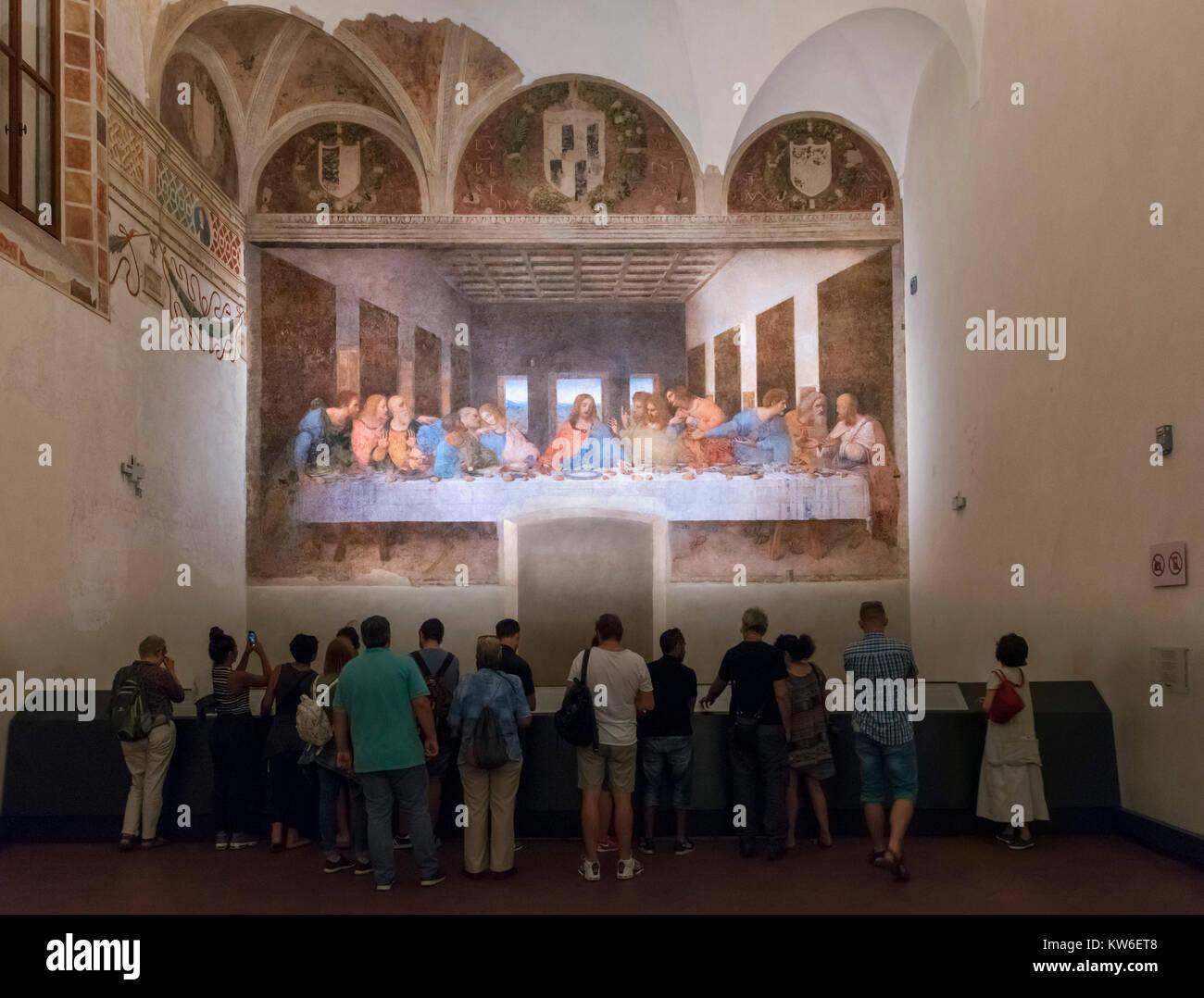 Ultima Cena Da Vinci Immagini E Fotos Stock Alamy