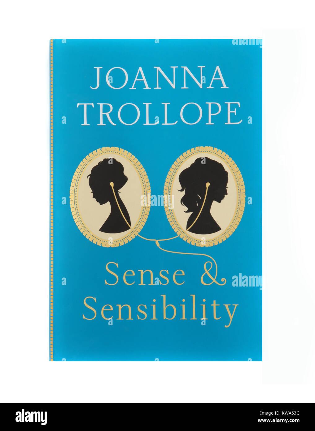 Il libro, senso e sensibilità da Joanna Trollope. Immagini Stock
