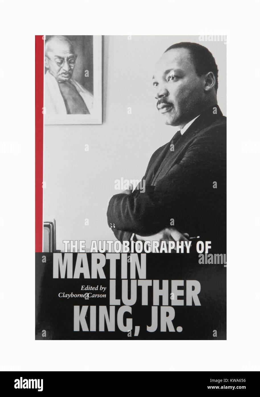 L'autobiografia di Martin Luther King Junior Foto Stock