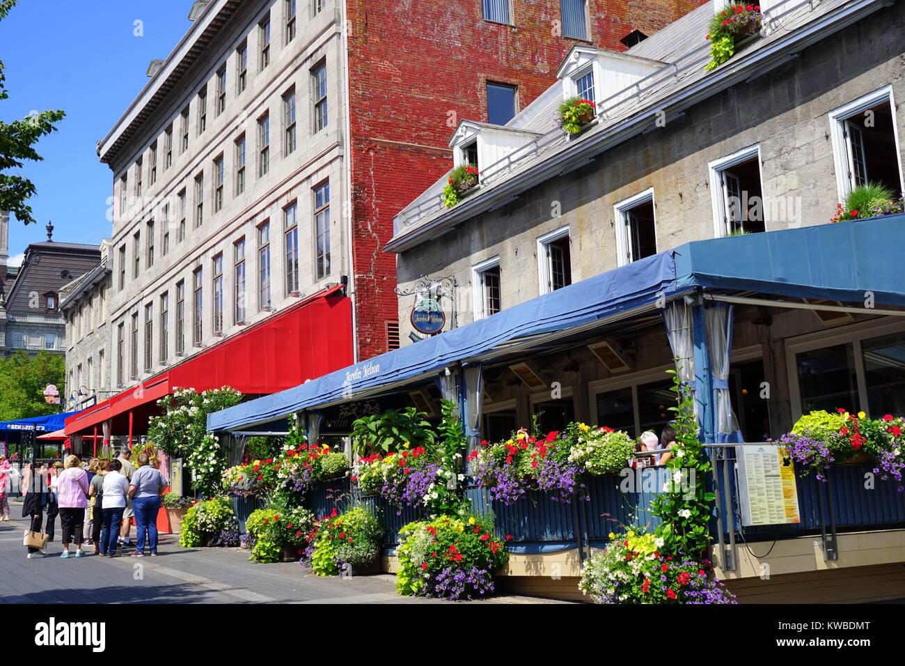 Jardin Nelson, un ristorante con una terrazza fiorita situato in un ...