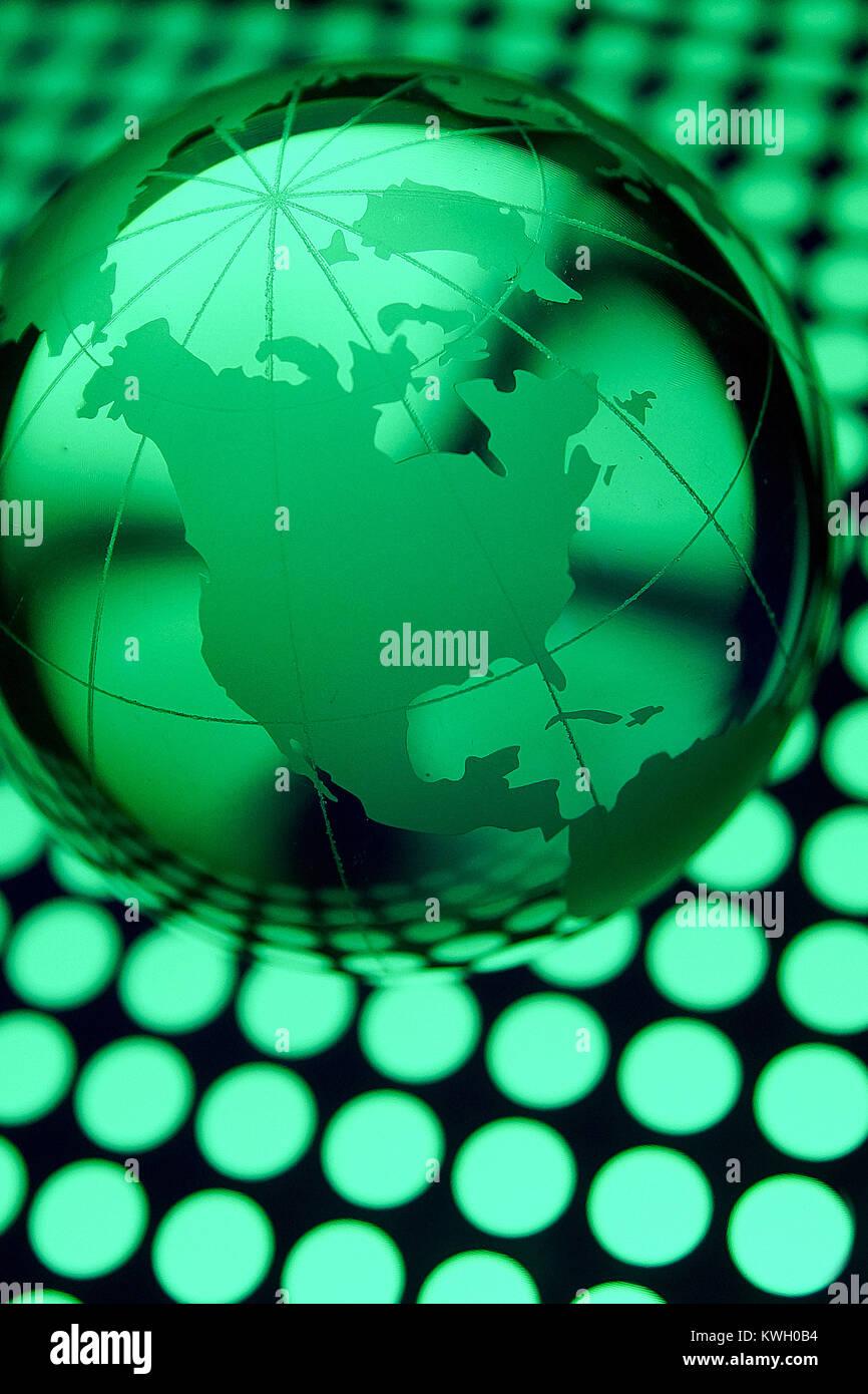 Montreal, Canada, 19 Marzo,2013.Concpet della globalizzazione mondiale.Credit:Mario Beauregard/Alamy Live News Immagini Stock
