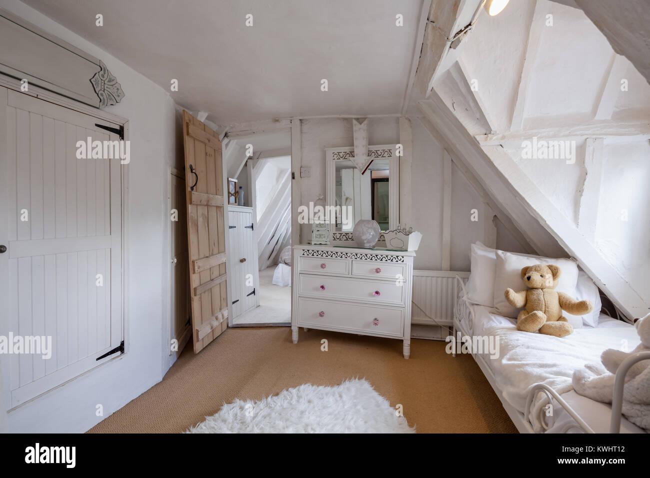 Splendidamente decorate camera da letto all\'interno di ...
