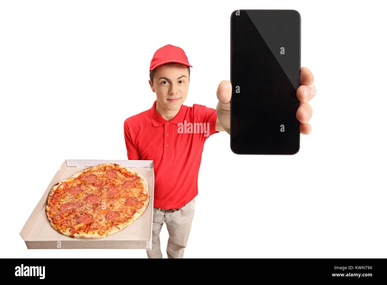 Persona Che Consegna Pizze Immagini Persona Che Consegna Pizze