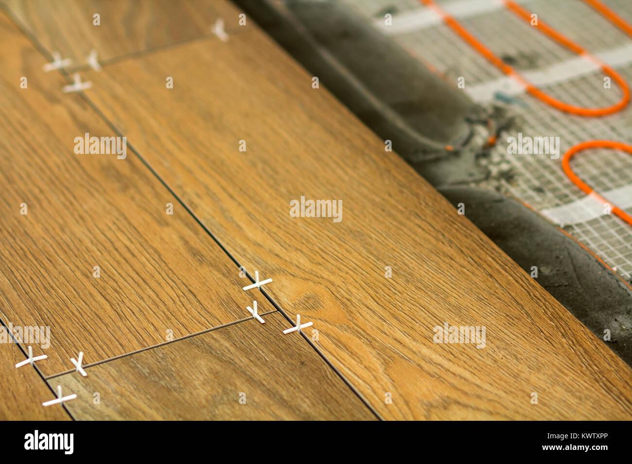 Installazione di piastrelle in ceramica e gli elementi di
