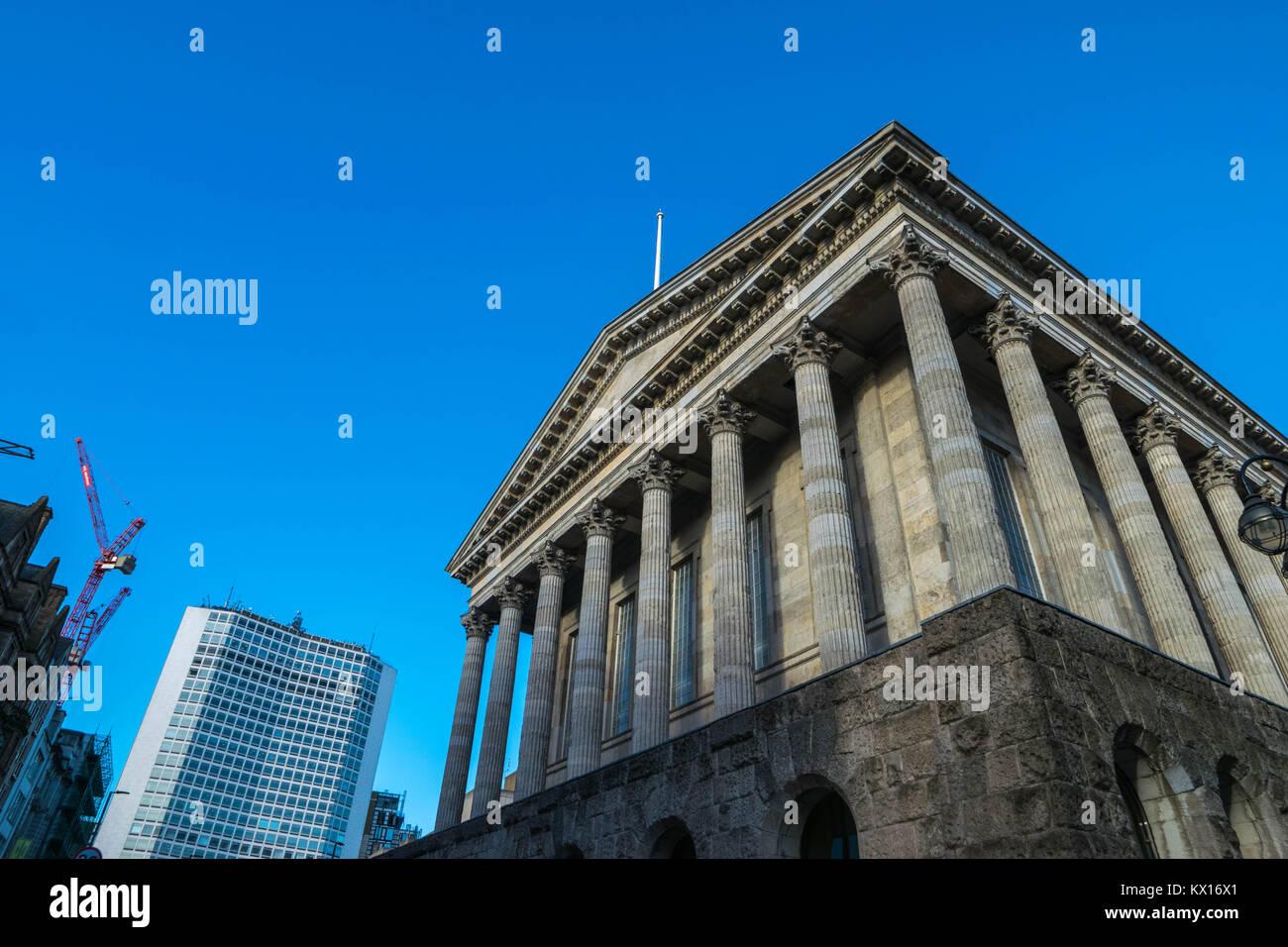 Birminghamm, Regno Unito - 3 Ottobre 2017 : Birmingham town hall Foto Stock