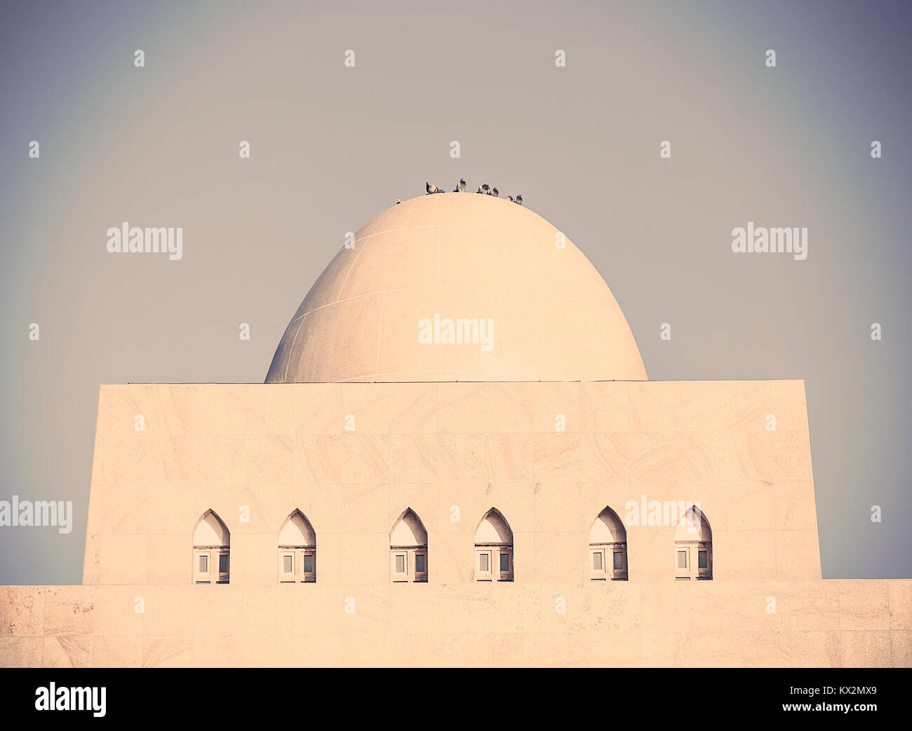Dome, museo loulan II, charkilik-CINA Immagini Stock