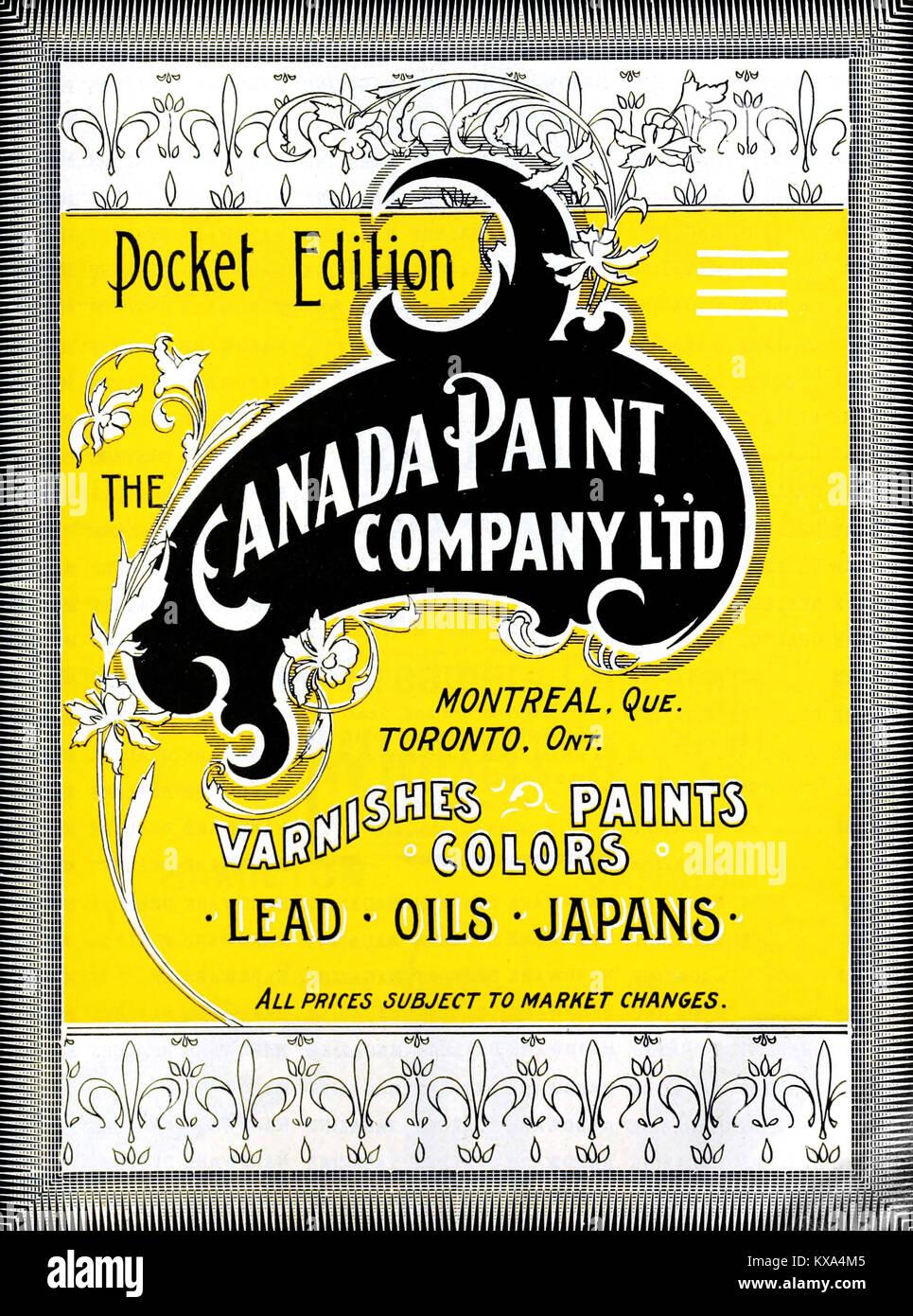 Vernice Canada Company Ltd Immagini Stock