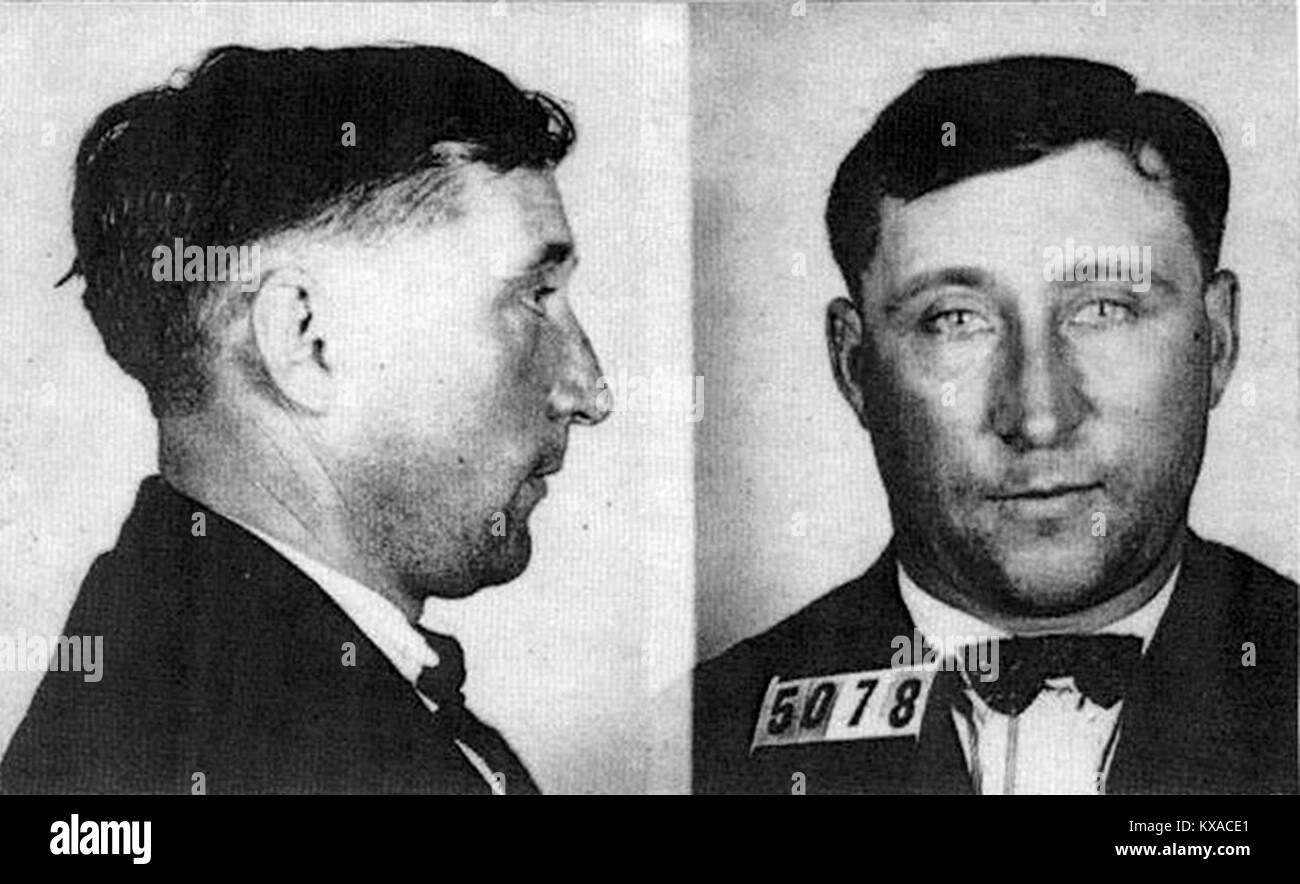 Harry F. poteri, condannati Dutch-American serial killer che è stato impiccato in Moundsville, West Virginia. Immagini Stock