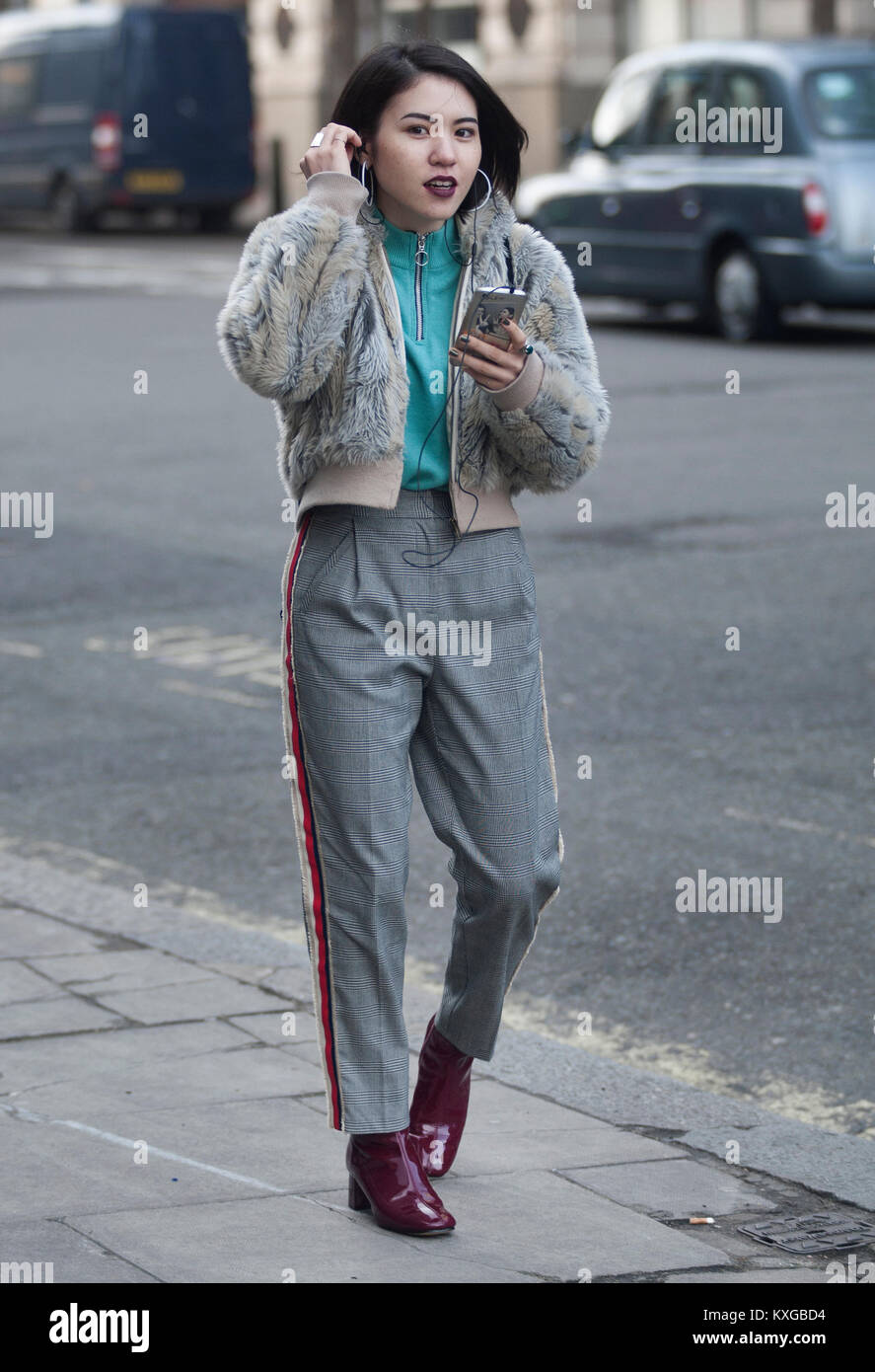 Mens Del Aw Dal Style Week Street 2018 Fashion London Giorno Uno wHIU78q