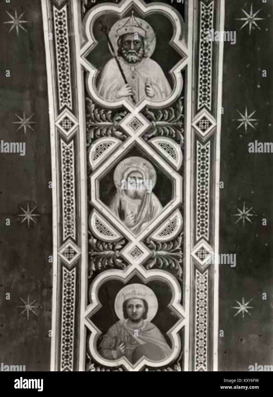 Giotto, motivo decorativo 01. Immagini Stock