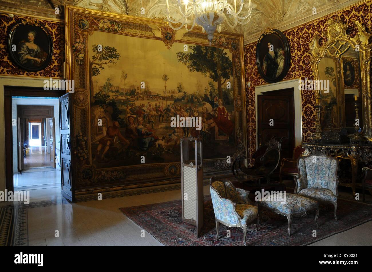 Soggiorno, Palazzo Andrea Doria, 2013, Villa del Principe, Genova ...