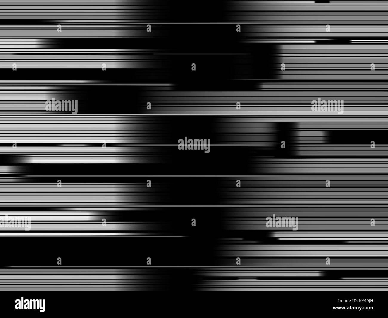 Abstract dettagli architettonici gradient modello nero, contemporaneo dinamico Immagini Stock