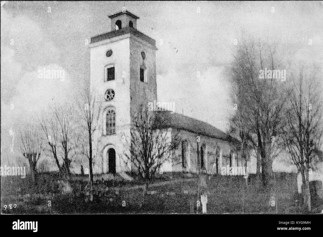 Rådmansö kyrka - KMB - 16000200127782 Foto Stock