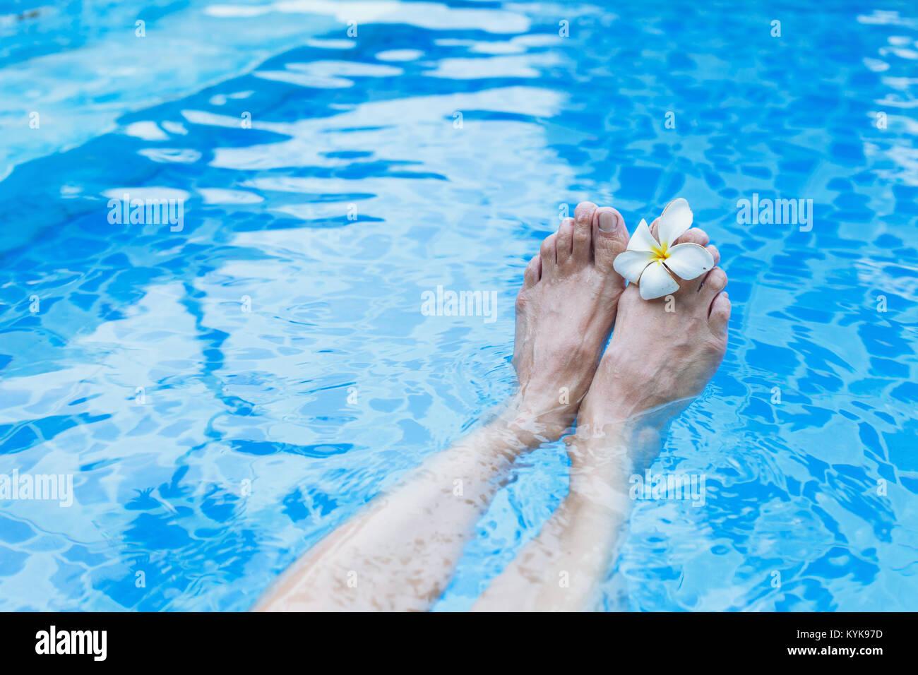 Trattamento Spa Per I Piedi E La Pelle Sfondo Benessere La Salute E Il Concetto Di Bellezza Foto Stock Alamy