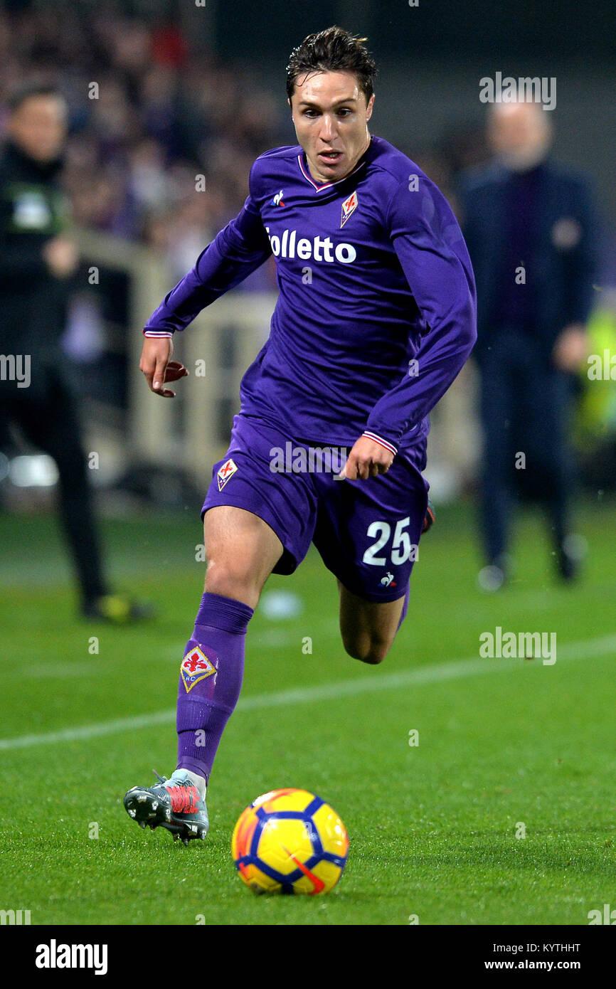 71fdd3fc382b5 Federico Chiesa Fiorentina Firenze 05-01-2018 Stadio Artemio Franchi calcio  calcio di Serie A 2017 2018 Fiorentina - Inter . Foto Andrea Staccioli   I