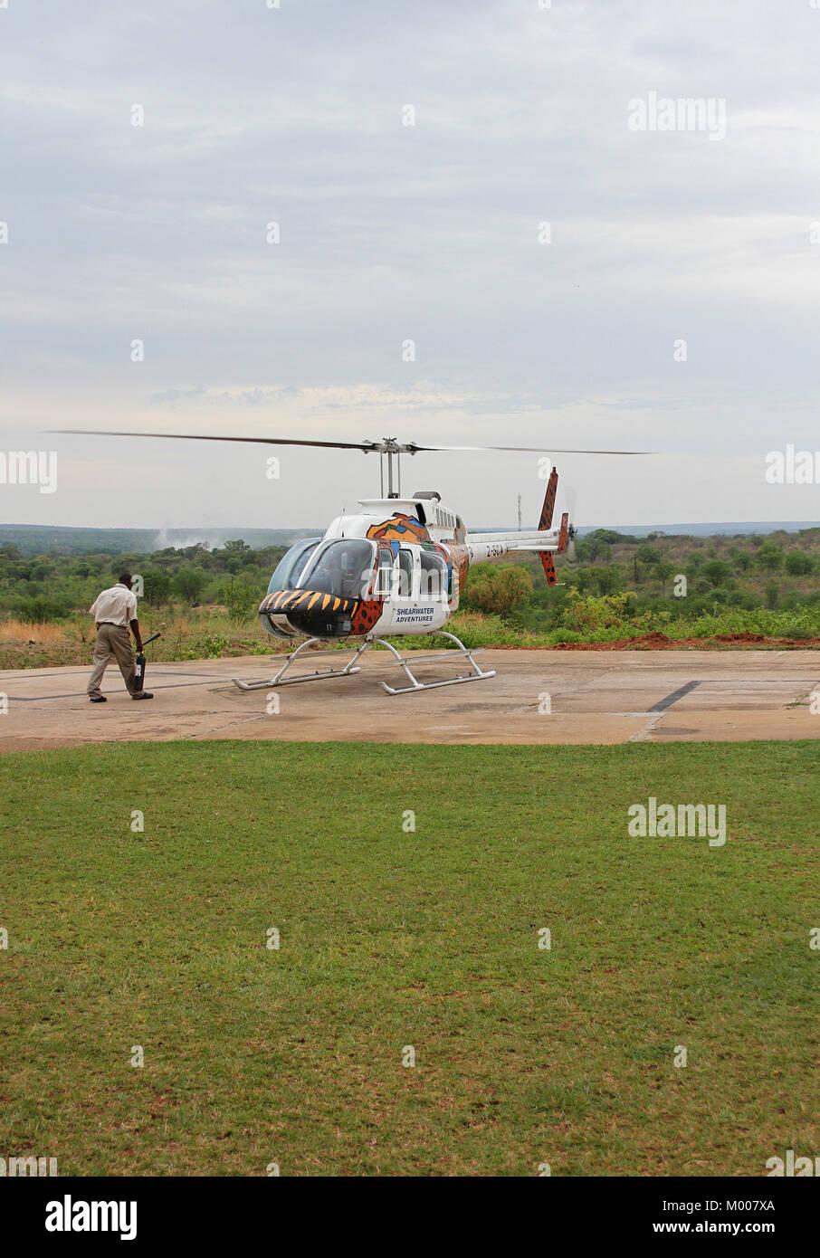 Elicottero 007 : Zambezi società elicottero bell 206l longranger 3 iii mosi oa tunya