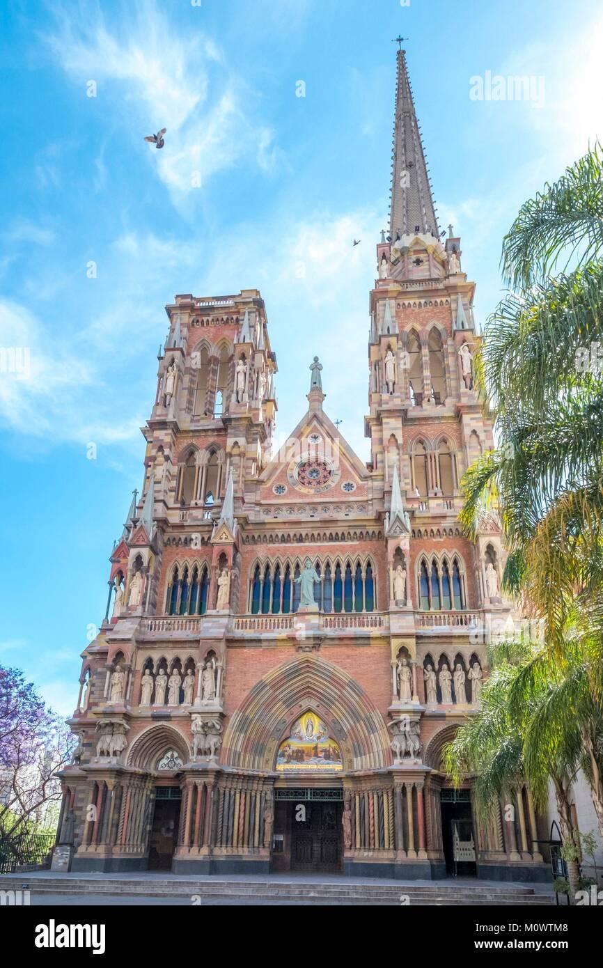 L'Argentina,in provincia di Cordoba,Cordoba,iglesia de Los Capucinos Immagini Stock