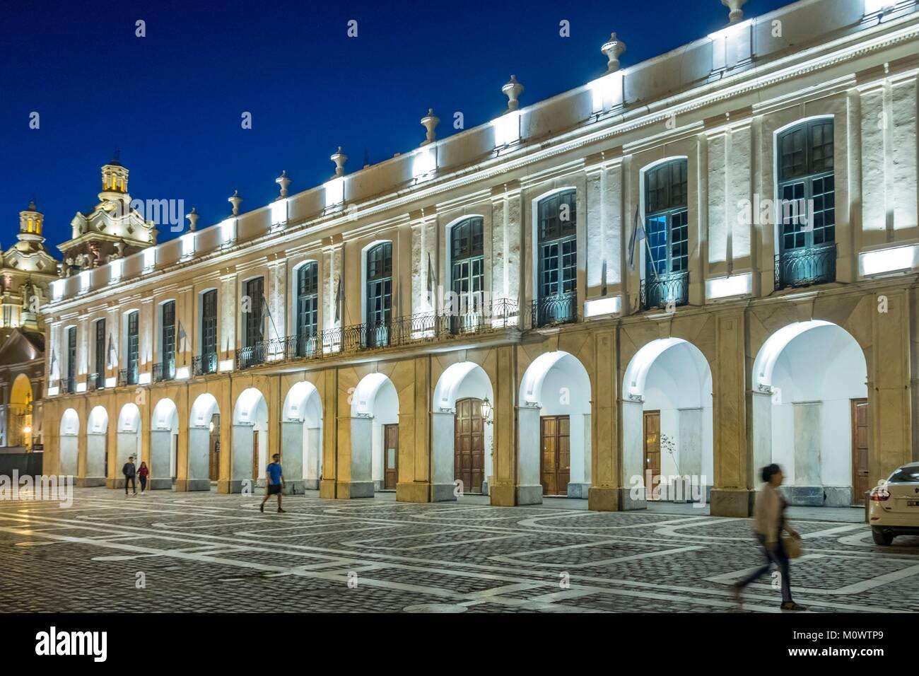 L'Argentina,in provincia di Cordoba,Cordoba,Plaza San Martin,Cabildo Immagini Stock