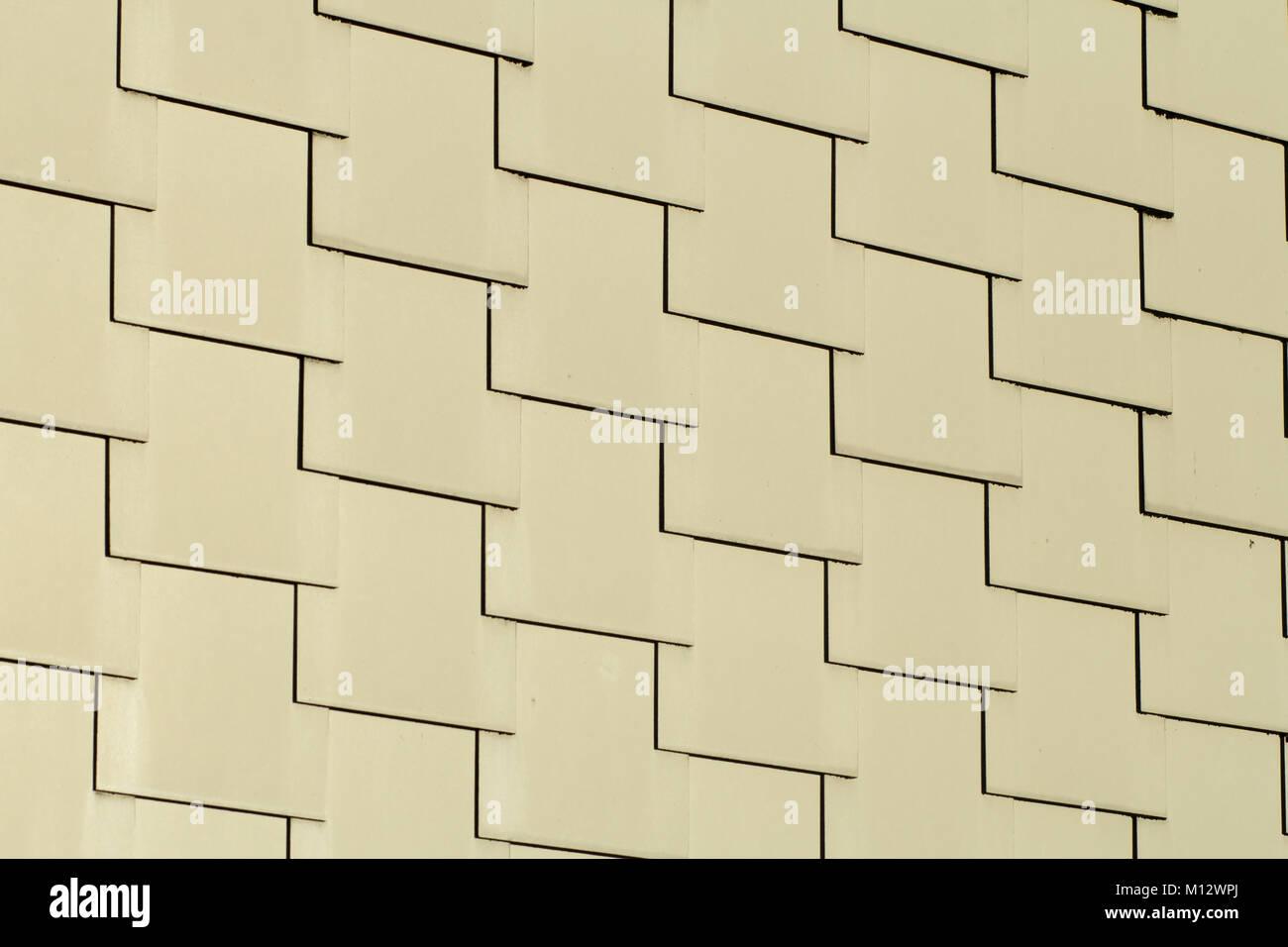 Abstract sfondo architettonico di sovrapposizione di colore crema