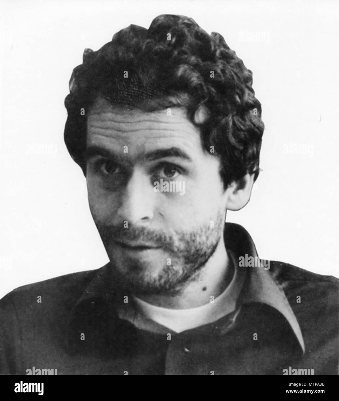 Theodore Robert Bundy (1946 - 1989) American serial killer, rapitore, stupratore, ladro e necrophile che hanno aggredito Immagini Stock