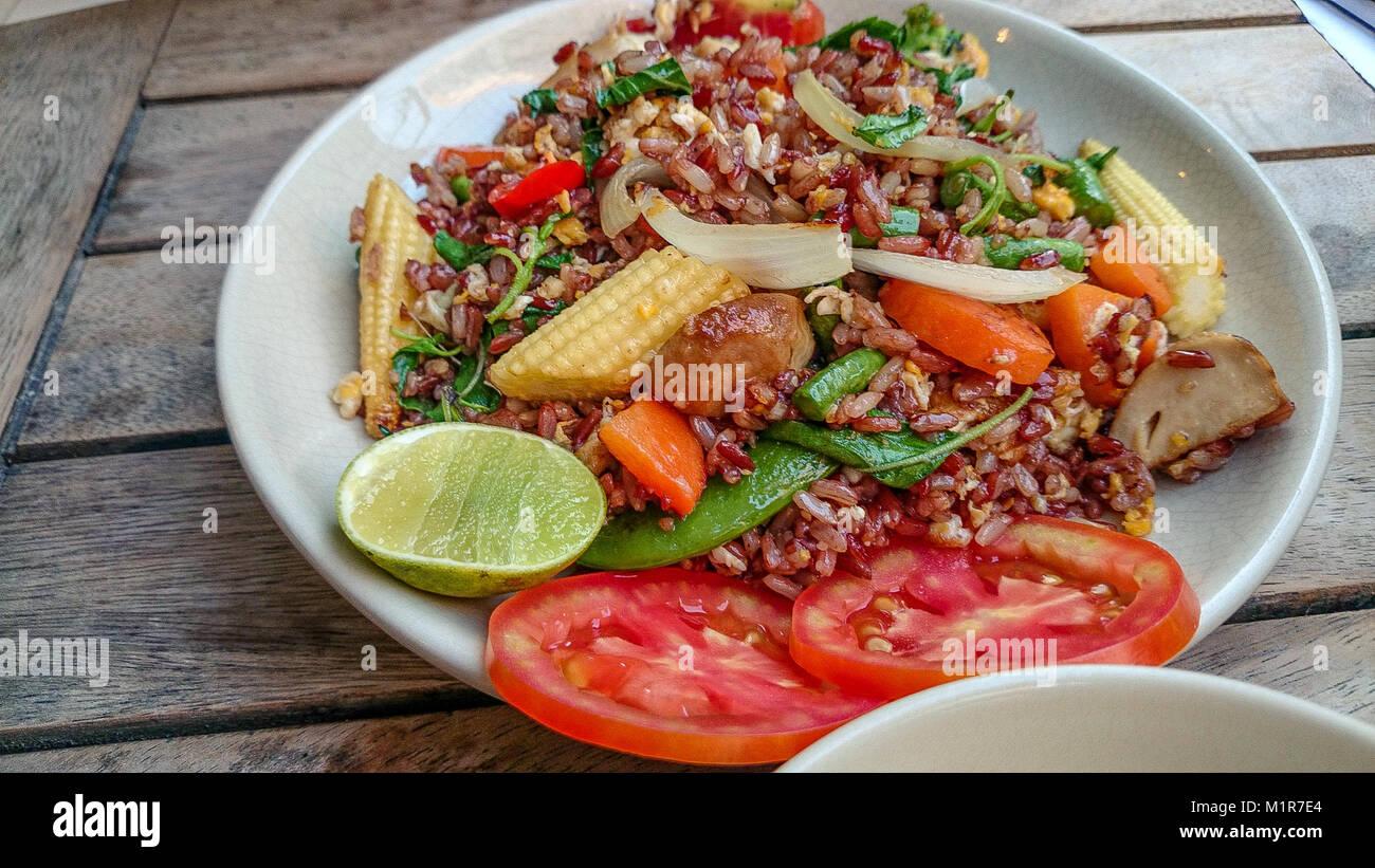 Cina. Il 1° febbraio 2018. Cucina tailandese è una delle più famose ...
