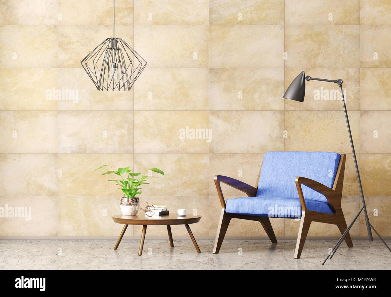 Soggiorno Moderno Con Tavolo In Legno.Interni Dal Design Moderno Di Soggiorno Con Tavolo Da Caffe In