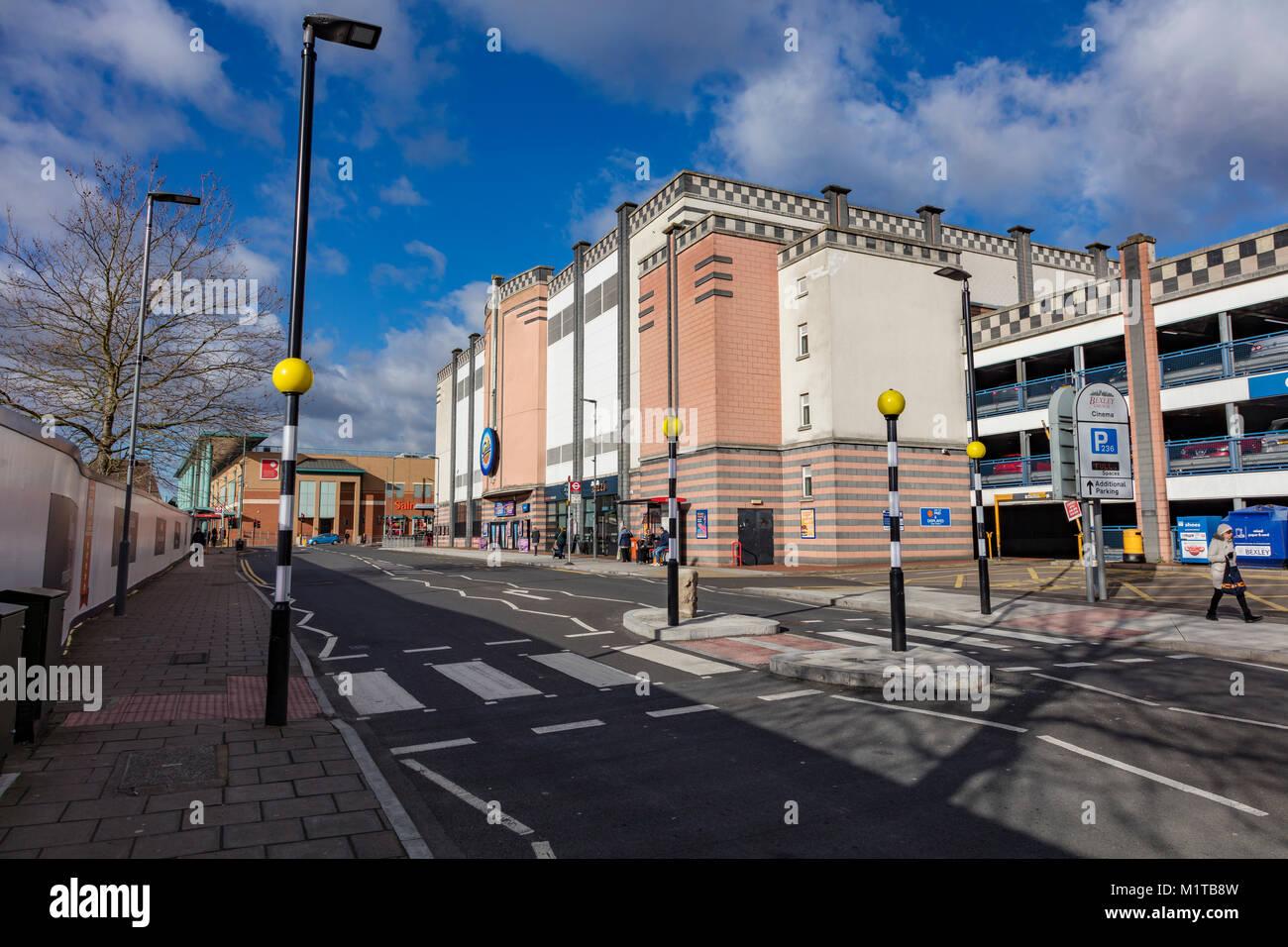Gala Bingo Hall in Bexleyheath centro città, London Borough of Bexley, Regno Unito Immagini Stock