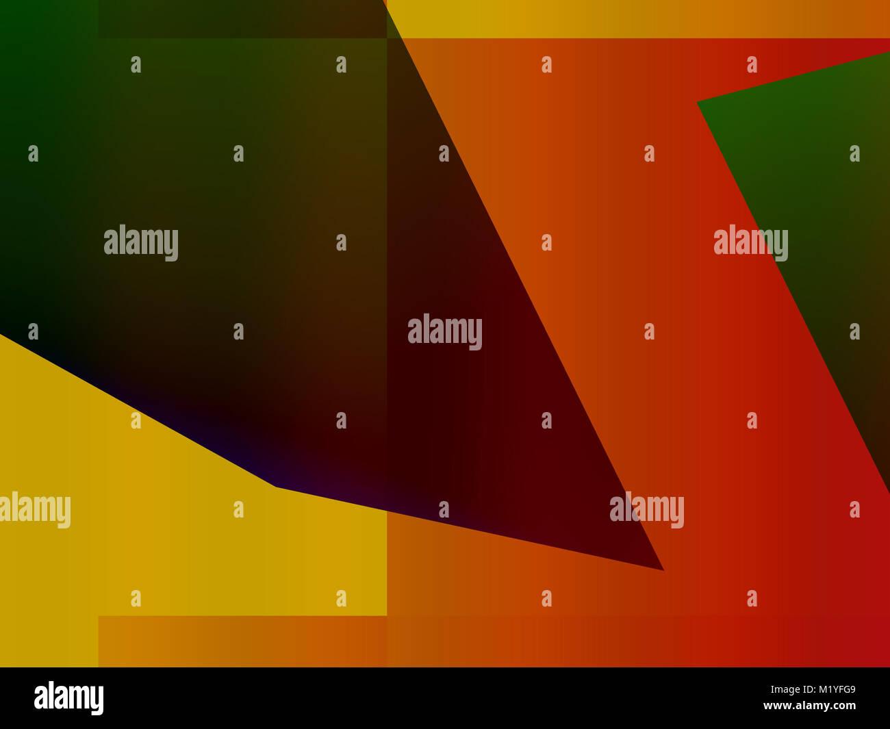 Abstract decorativo espressionismo dinamico e creativo futuristico colorato pubblicità Immagini Stock