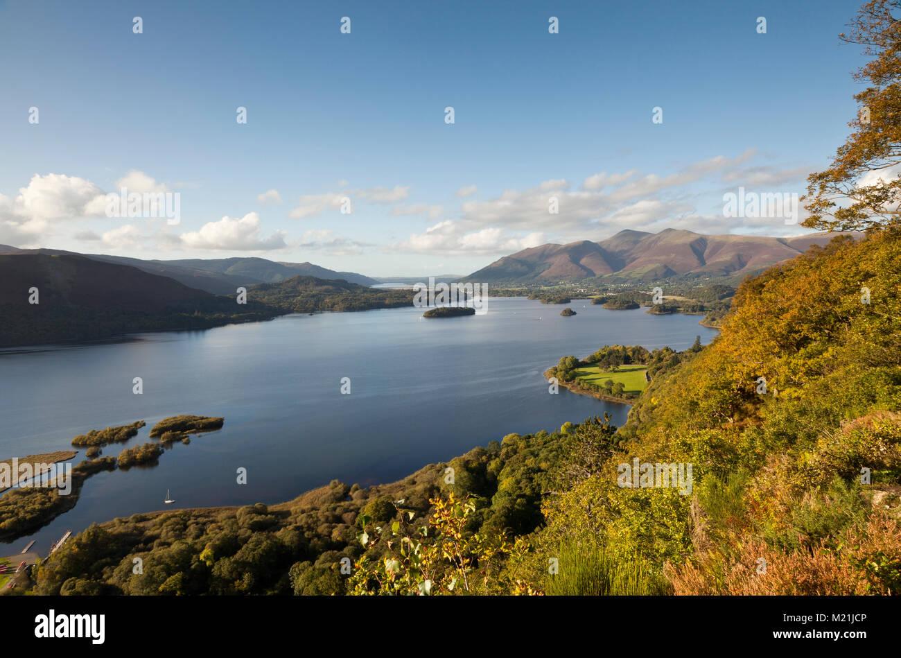 Vista a sorpresa, Lake District UK Immagini Stock