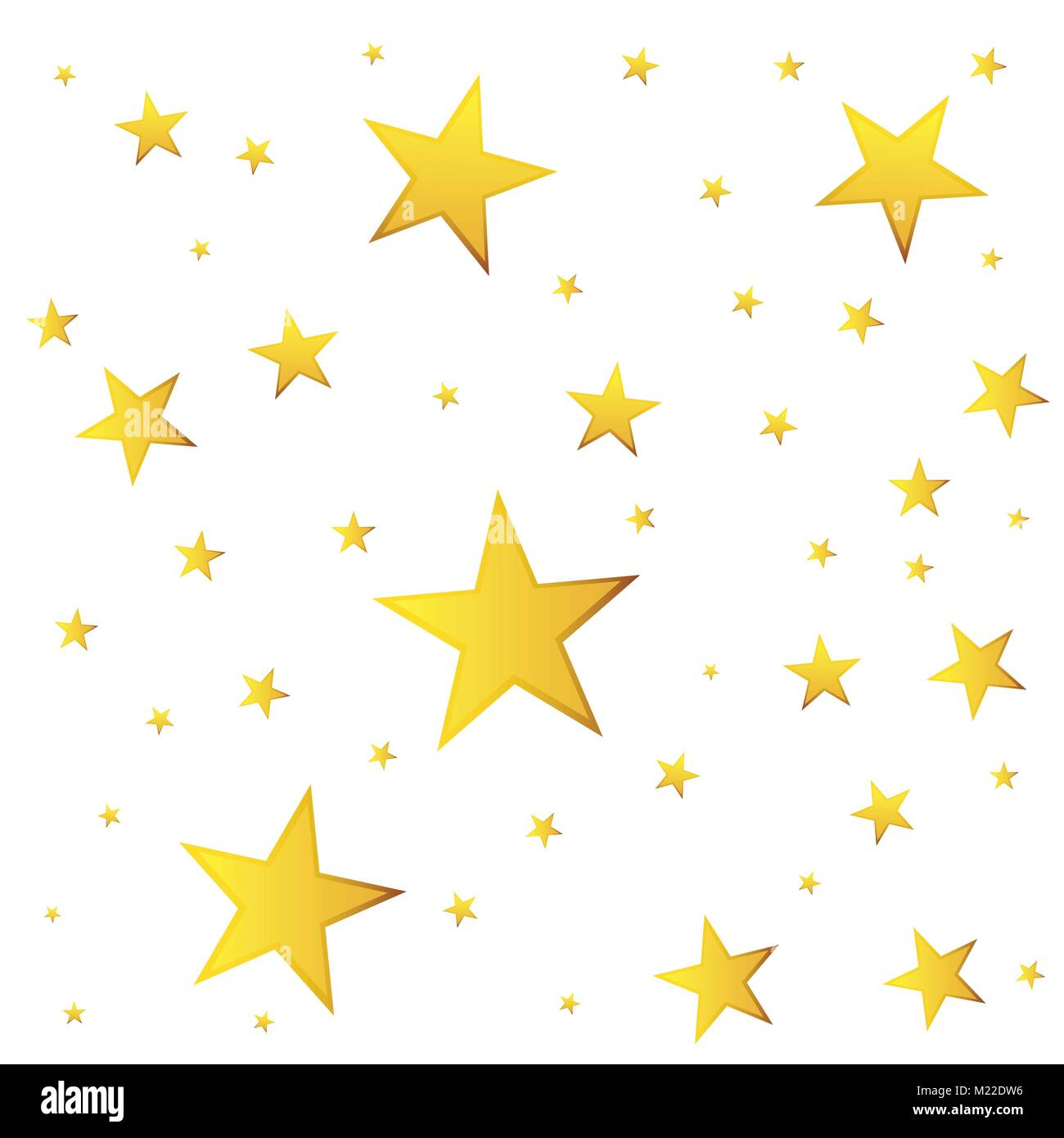 Stella Cadente Di Natale.Abstract Stella Cadente Vettore Illustrazione Con Golden